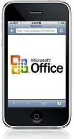 Microsoft basándose en su Office Suite trabajará con iPhone y el navegador Safari