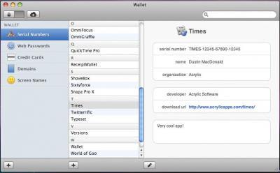 Wallet 3 puede sincronizar el Mac y el iPhone