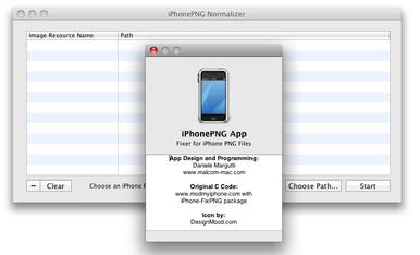 iPhonePNGApp: Convertidor de PNG para Mac