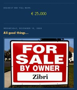 Zibri vende si dominio, www ziphone.org