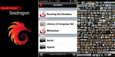 SeaDragon Mobile: Llega a la AppStore la primera aplicación desarrollada por Microsoft