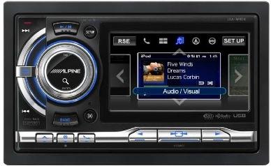 Nuevos receptores de radio Alpine, para el Iphone y el Ipod con un modelo de pantalla táctil