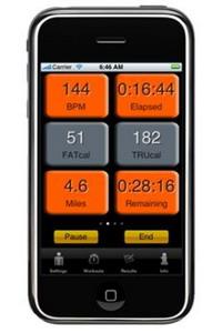 El iphone utilizado como pulsómetro
