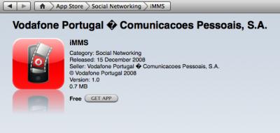 IMMS: la aplicación de Vodafone Portugal para enviar y recibir MMS