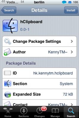 hClipboard 0.0-1 – Disponible una segunda aplicación para Copiar y Pegar