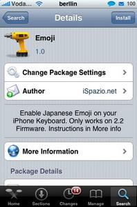 Emoji 1.0 – Emoticonos en el iPhone