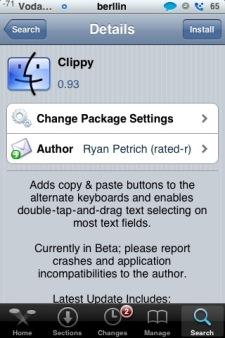 Actualización - Clippy 0.93