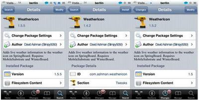 WeatherIcon 1.5.5 - Actualización