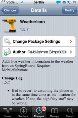 Weathericon 1.5.6 y 1.5.7 - Actualización