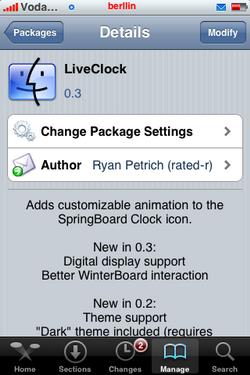 LiveClock, sustituto de LiveTime