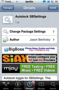 AutoLock SBSettings