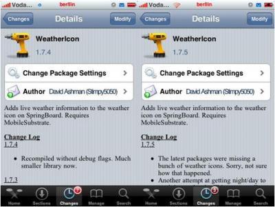Weathericon 1.7.3 - 1.7.4 - 1.7.5 – Actualización