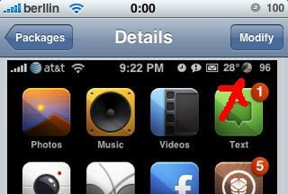 WeatherIcon 1.8.9 y 1.8.10 – Actualización - Cydia - iPhone / iPod Touch