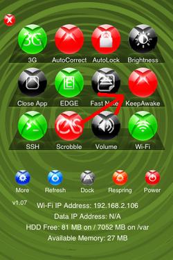 Keep Awake, mantén el Wifi abierto aunque el iPhone / iPod Touch esté en espera