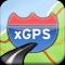 xGPS 1.2 con ayuda de voz en inglés para el iPhone / iPod Touch