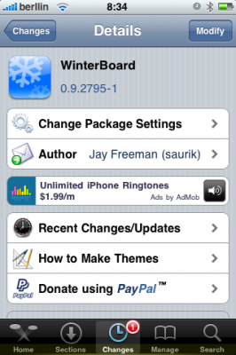 Winterboard 0.9.2795-1 - Actualización - iPhone / iPod Touch