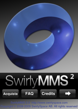 SwirlyMMS ² - Actualización - iPhone