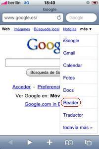 Google Reader0001 por ti.