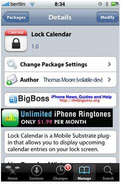 Lock Calendar 1 por ti.